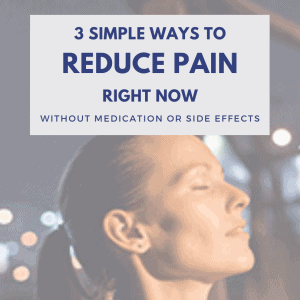 3 Ways to Reduce Pain square blog feature image