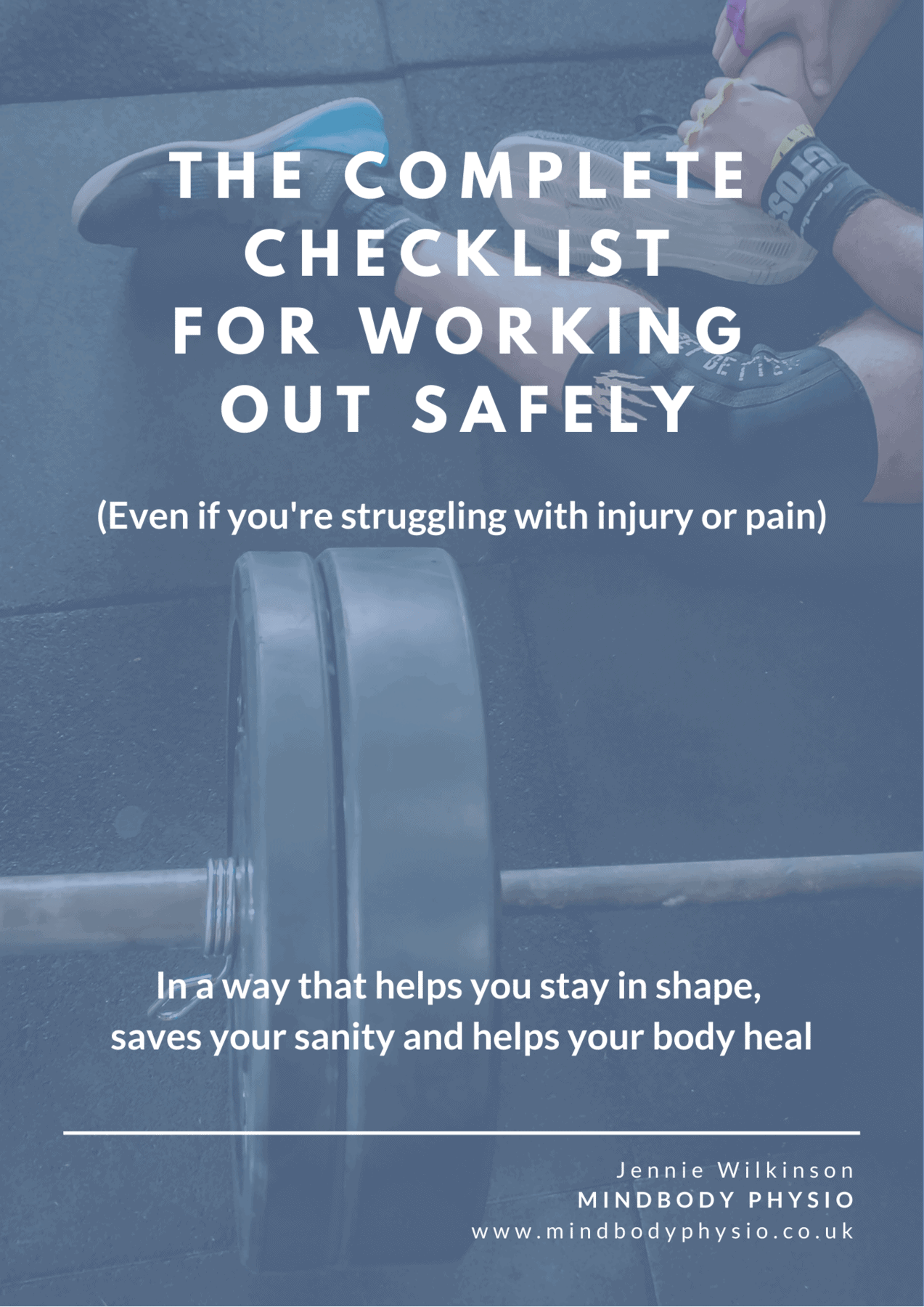 The Complete Checklist for Working Out Safely Free Download Image